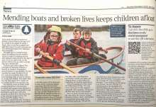 Oarsome Chance featured in the Times 5 Dec 20